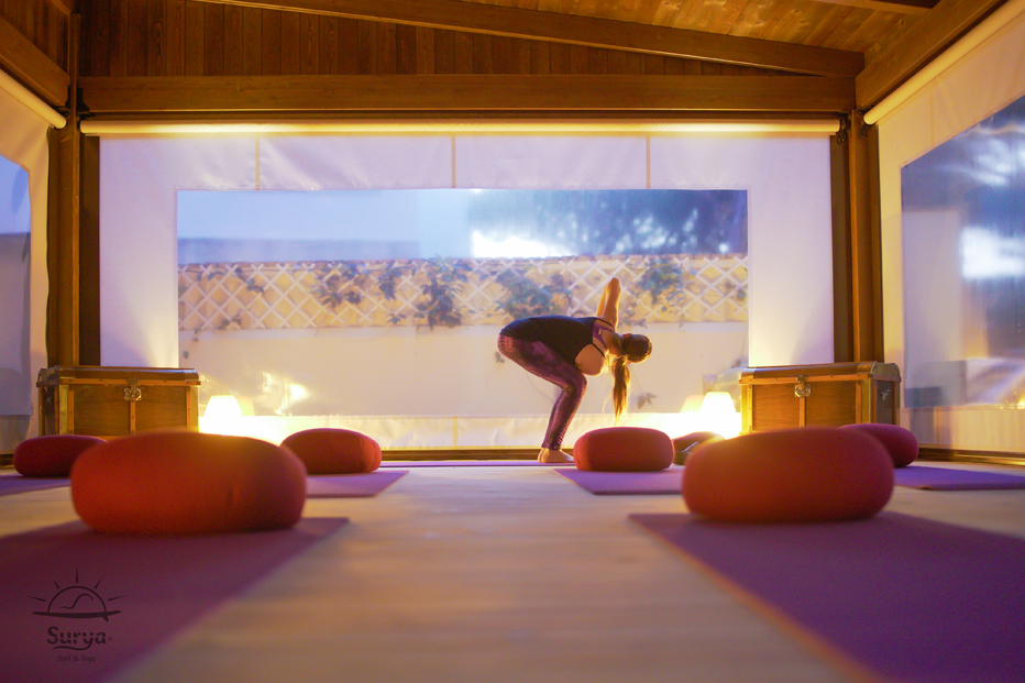 Yoga for surfers, villa surya. relax and experience